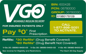 V-Go co-pay reduction card