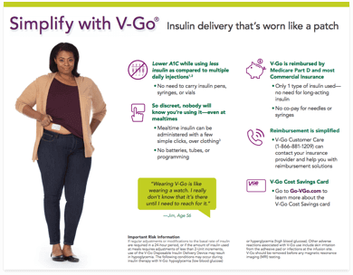 Simplify with V-Go brochure